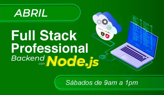 FullStack Professional con NODEJS y MEAN