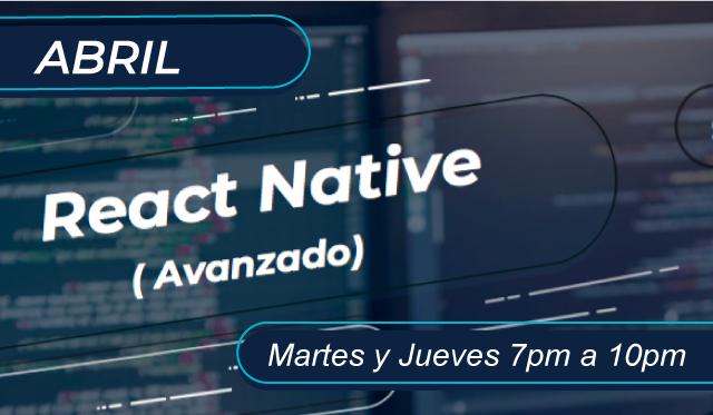 React Native Avanzado
