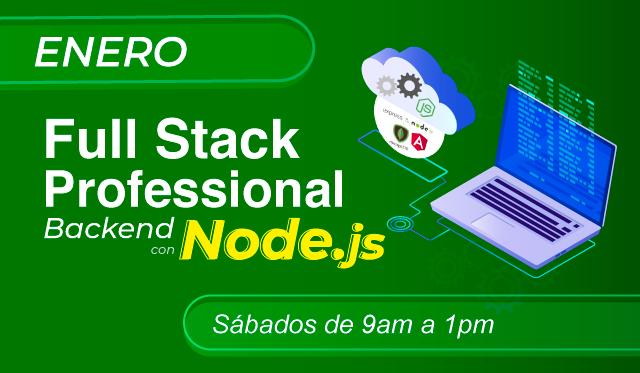 FullStack Professional con NODEJS