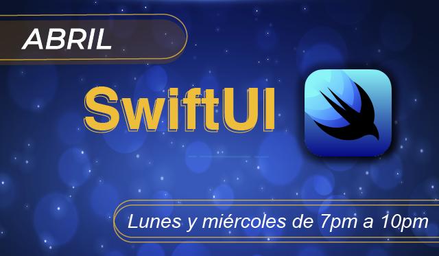 SwiftUI desarrollo para iPhone, iPad, appleWatch, appleTV, MacOS, con un solo esfuerzo.